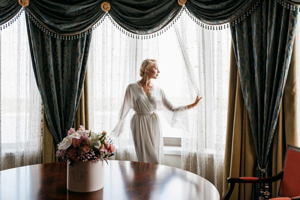 Свадебная фотосессия в Fairmont Grand Hotel Kyiv